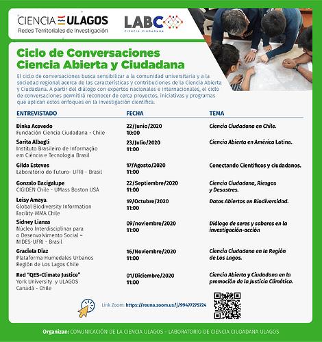 Afiche Ciencia Abierta y Ciudadana 19 de junio-02